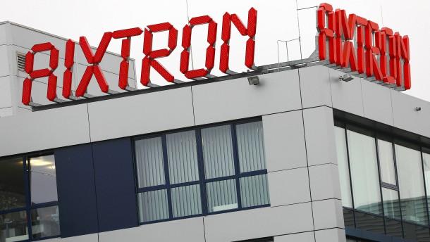 Aixtron-Aktienkurs verliert zehn Prozent