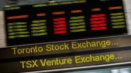 Kanadas Börse spürt die Spannungen mit Saudi-Arabien
