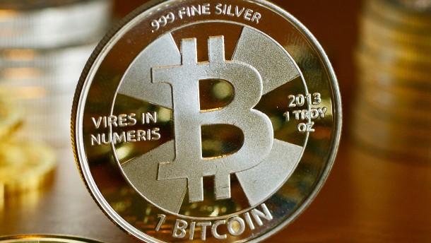 Bitcoins vom Bison