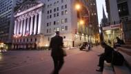 Amerikanische Börsen auf Erholungskurs