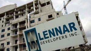 Lennar-Aktie kämpft um Unterstützung