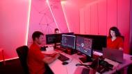 Training gegen Hackerangriffe, hier beim Energieunternehmen Innogy, das allerdings nicht zur Finanzbranche gehört