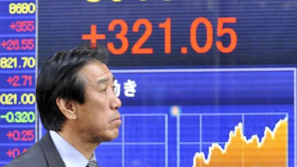 Wetten auf Konjunkturprogramm beflügelt den Nikkei