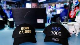 S&P 500 schließt erstmals über 3000 Punkten