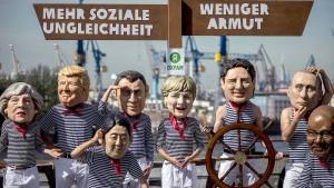 Gipfeltreffen der G20 beginnt in Hamburg