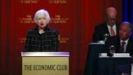 Janet Yellen und die Notenbank Fed legen offenbar mit Blick auf weitere Leitzinserhöhungen keine Eile an den Tag.