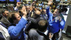 Die Chinesen stürmen an die Wall Street