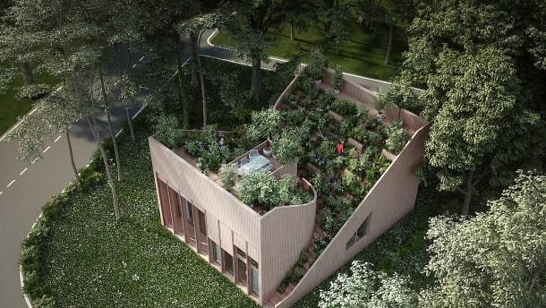 F rs landleben der zukunft architektur avantgarde in der for Minimalistisch essen