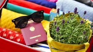 Was darf mit ins Urlaubsgepäck?
