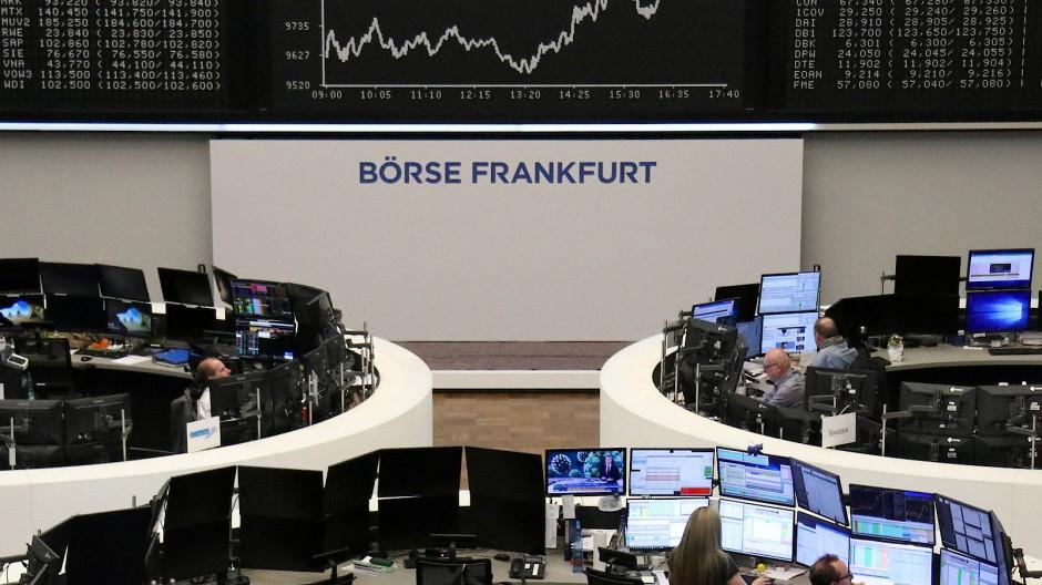 Dax-Chart in Frankfurt