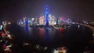 Die Skyline von Shanghai, einer der wichtigsten Wirtschaftsstandorte des Landes.