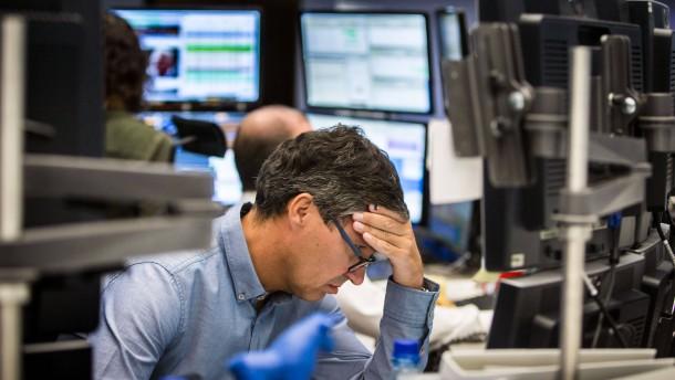Neue Zinsspekulationen drücken Aktienkurse