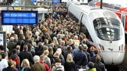 Bahn will fünf Milliarden Euro zur Verbesserung der Pünktlichkeit