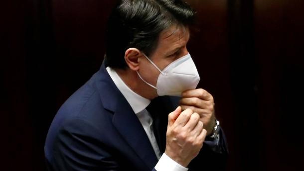 Conte will Italiens Exportindustrie wieder hochfahren