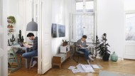 Kurze Wege, mehr Gemeinschaft: Kleine Wohnungen haben auch etwas für sich.