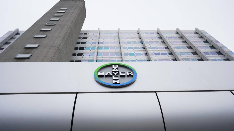 Logo des Chemiekonzerns Bayer
