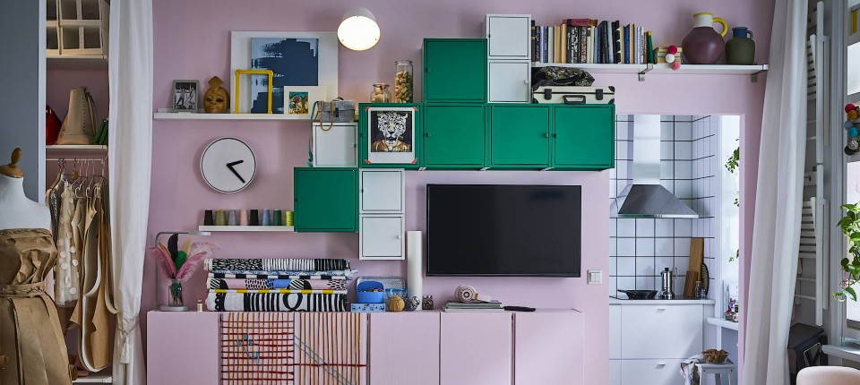 Raumlösung: So schafft man mehr Stauraum in der Wohnung