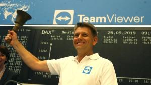 Teamviewer mit durchwachsenem Börsenstart