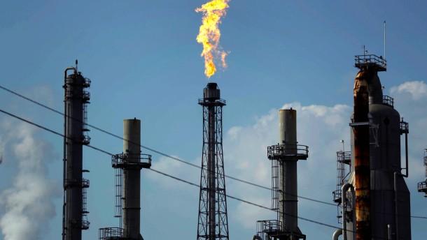 Ölpreissturz sorgt für fallende Aktienkurse