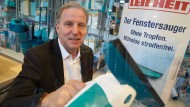 """Aus für den """"Saubermann"""": Der Vorstandsvorsitzende des Haushaltswarenherstellers Leifheit, Thomas Radke, muss gehen."""