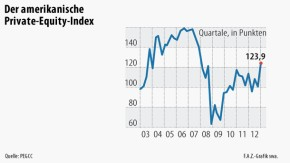 Infografik / Der amerikanische Private-Equity-Index