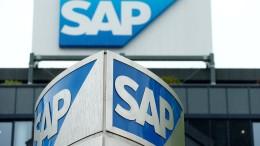 Aktienkurs von SAP fällt um 20 Prozent