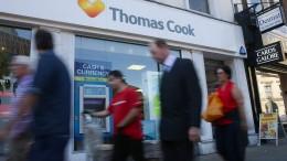 Aktienkurs von Thomas Cook bricht ein