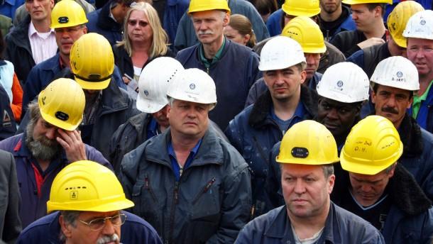 Aktionstag bei Kieler Werft HDW