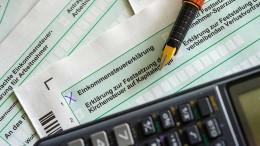 Was Sie für Ihre Steuererklärung jetzt noch wissen müssen