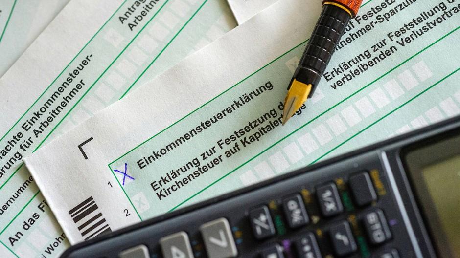 Es kommt der Mai – die Steuererklärung steht wieder an