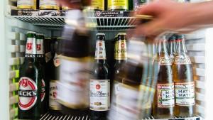 Bier im Supermarkt wird teurer