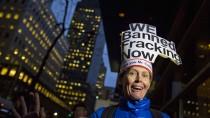 Fracking-Gegner in New York freuen sich über die Entscheidung des New Yorker Gouverneurs Andrew Cuomo.