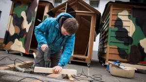 Ein Mini-Eigenheim für Obdachlose
