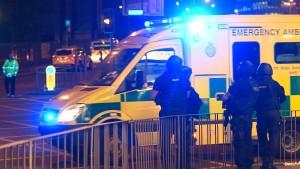 19 Tote nach Explosion bei Konzert in Manchester