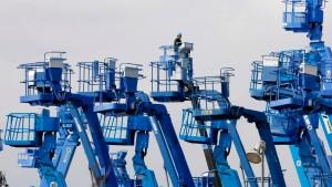 Auftragseinbruch in Japans Maschinenbau