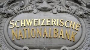 Schweizer stellen sich auf Eurokursziel ein