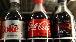 Zahlen von Coca-Cola & Co