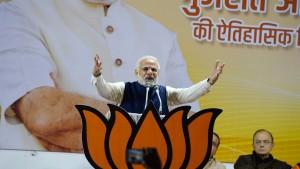 Modi baute seinen Wahlkampf auf einen Bestechungsirrtum auf