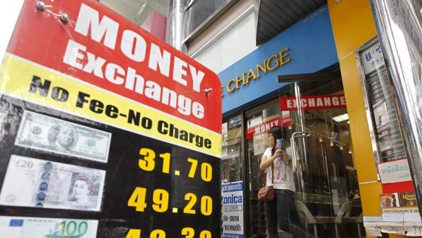 Schwellenländer mit Leistungsbilanzdefizit gefordert
