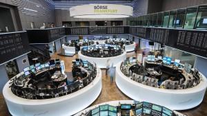 Schwacher Euro hievt Dax ins Plus