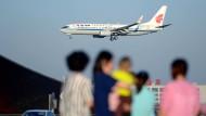 Pünktliche Flieger sind in China nicht selbstverständlich.