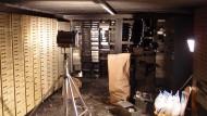 Tatort Volksbank Berlin-Steglitz: Rund 300 Schließfächer wurden hier von Räubern aufgebrochen und leergeräumt.