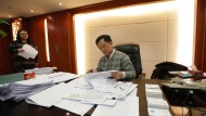 Guan Jianzhong, Gründer und Chef der Rating-Agentur Dagong, steht unter Druck.