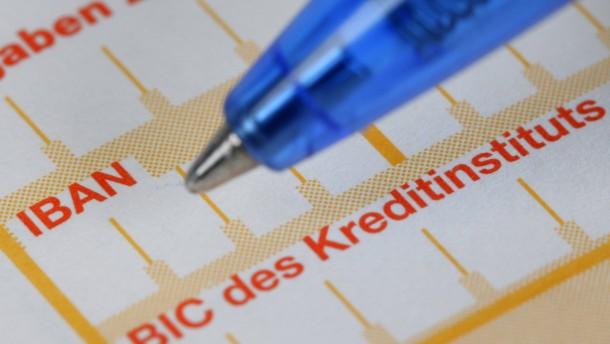 Deutschland hinkt bei Sepa-Umstellung hinterher
