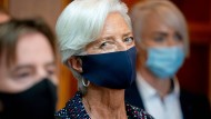 Der Anstieg der Inflation dürfte EZB-Präsidentin Christine Lagarde herausfordern.
