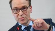 """Bundesbankpräsident Jens Weidmann hat seiner Position zum """"Greening"""" der Notenbank einen neuen Aspekt hinzugefügt – der nicht unwichtig ist."""