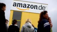 Amazon-Mitarbeiter setzen ihren Streik fort