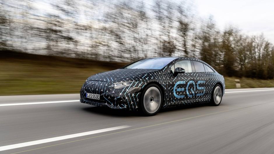 Der EQS ist das neue Elektroauto des Autoherstellers Daimler.