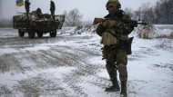 Ukrainische Konfliktparteien sollen schwere Waffen abziehen