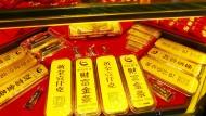 Chinesen greifen zu Gold